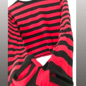 World Of Misery Striped Top